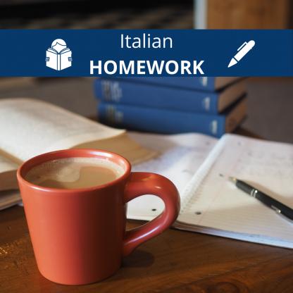 italian writing assignment