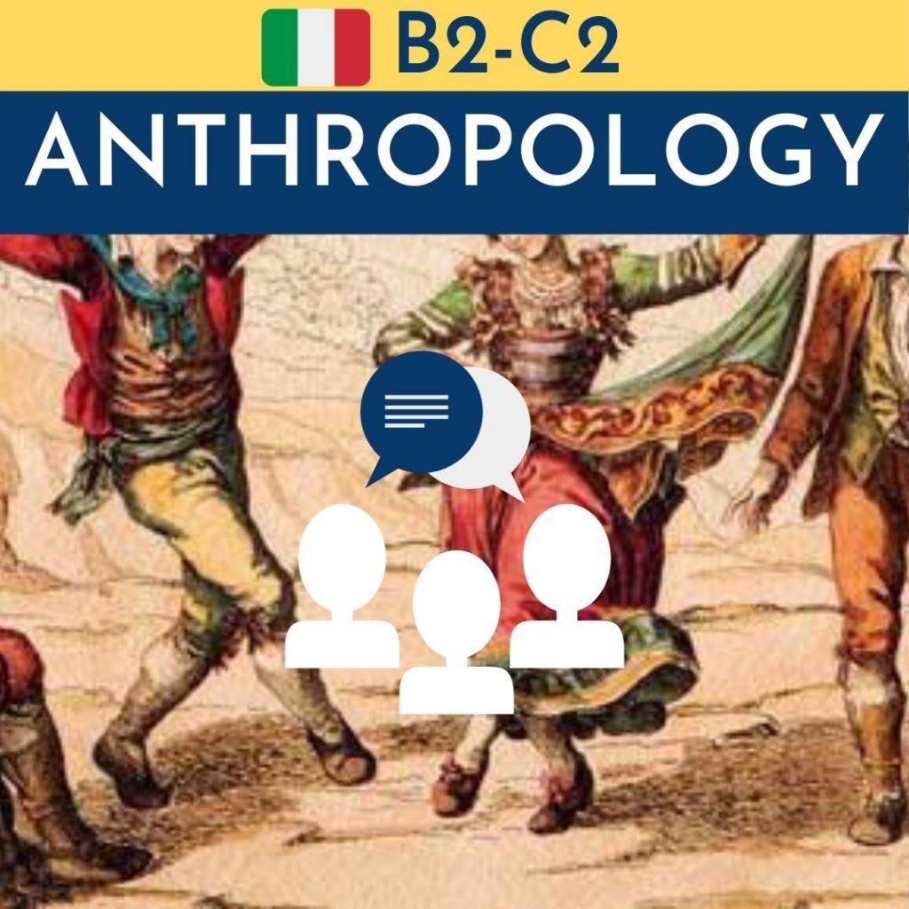 corso di antropologia in italiano per stranieri