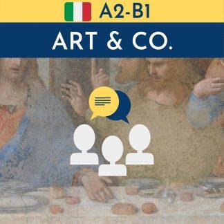 corso di arte in italiano per stranieri