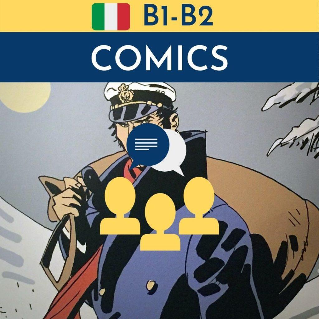corso di fumetto in italiano per stranieri